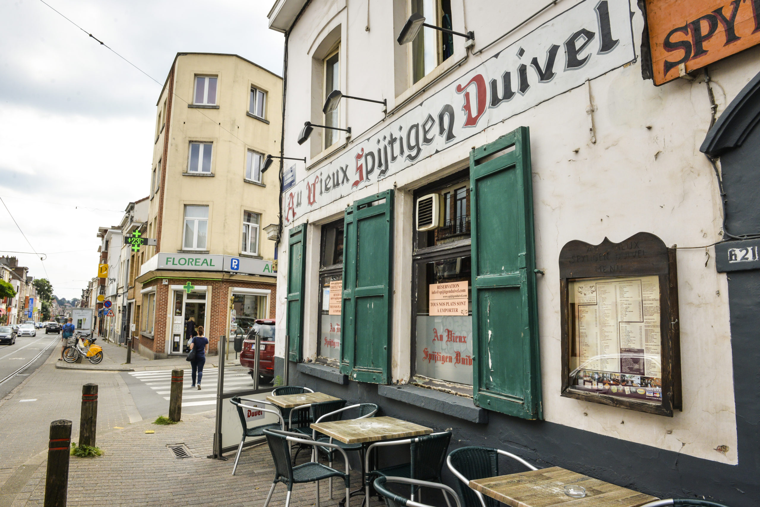 Au Vieux Spijtigen Duivel - Restaurant belge Bruxelles (19)