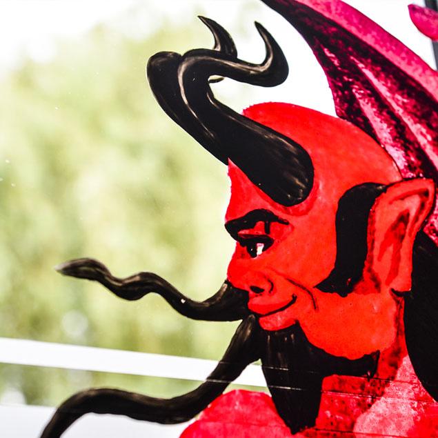 Au Vieux Spijtigen duivel - Le vieux Diable furieux - Les origines Histoire