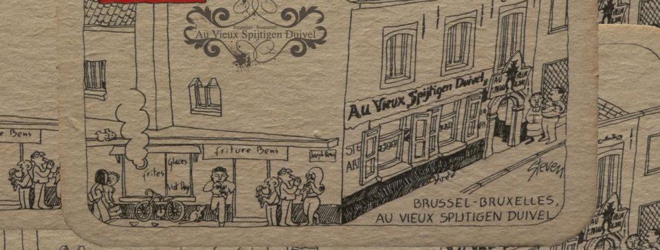Au Vieux Spijtigen Duivel Restaurant Cuisine belge - 1180 Uccle Bruxelles