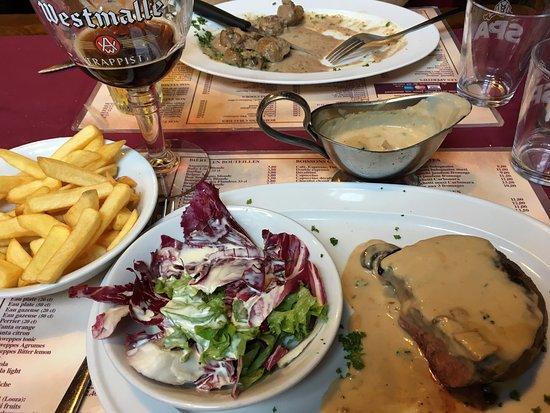 Au-vieux-Spijtigen-Duivel-Restaurant Cuisine belge-1180-Uccle-Bruxelles