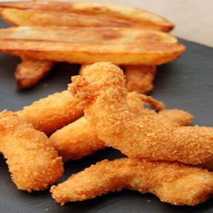 Scampis frits tartare - Au Vieux Sijtigen Duivel